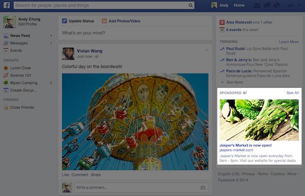 facebook Vereinheitlichung Bildermaße