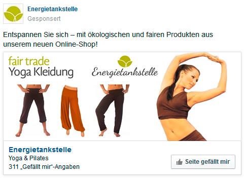 Werbeanzeige erstellen bei facebook