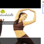 Screenshots Werbeanzeigen Maße