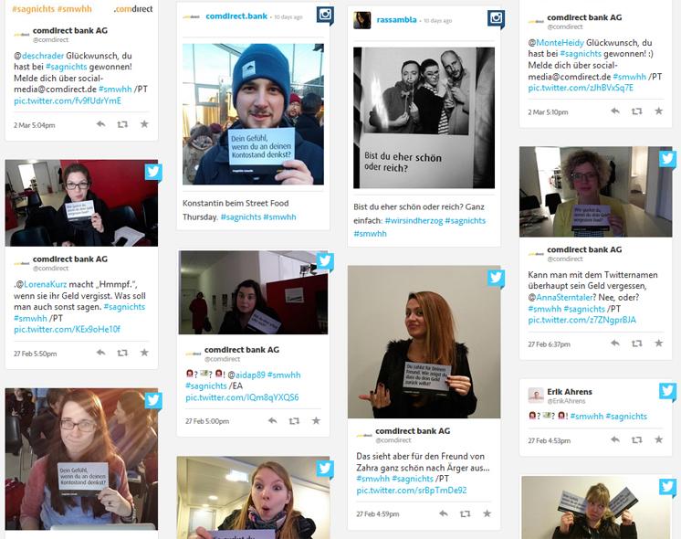 Tagboard: Hashtag #sagnichts