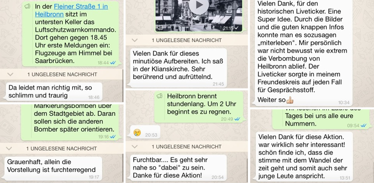 WhatsApp: Storyelling bei stimme.de | Feedback