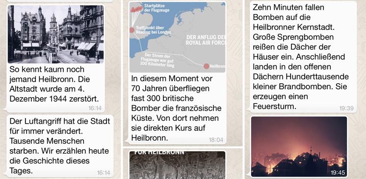 WhatsApp: Storyelling bei stimme.de