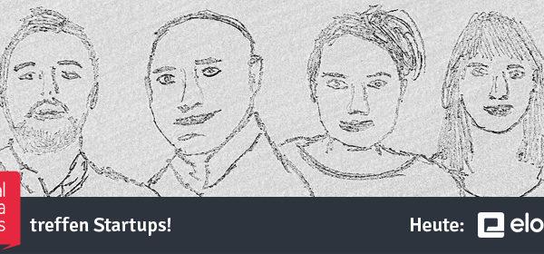 Bleistiftskizze von 4 Personen