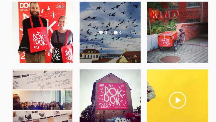 Instagram Account DOK Leipzig - Screenshot