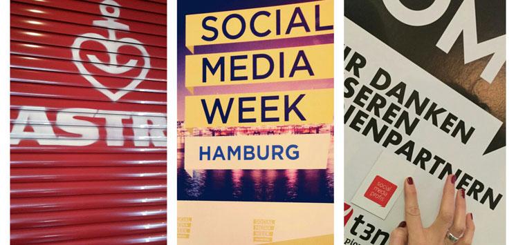 Social Media Week 2016 in Hamburg.