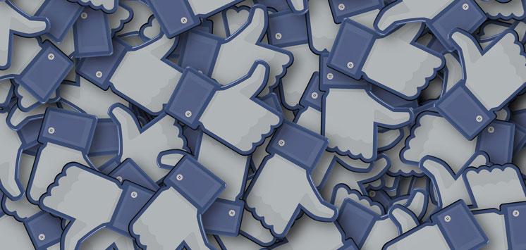 Facebook Like-Daumen