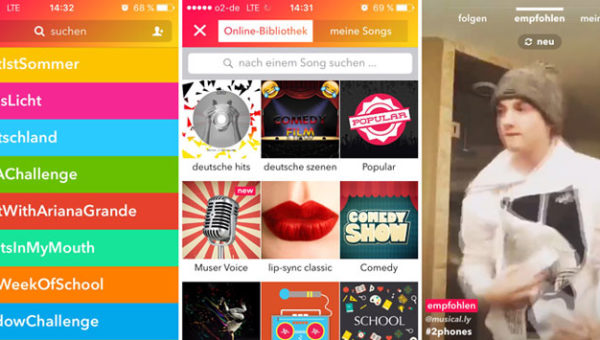 Screenshots Musical.ly App