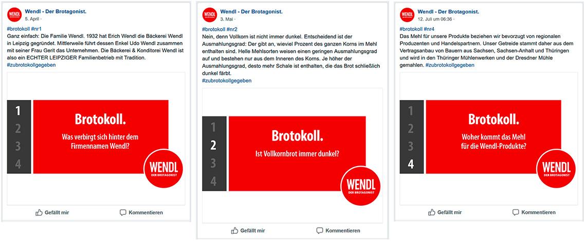 Wendl – Der Brotagonist.